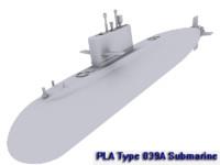PLA Type 039A Submarine