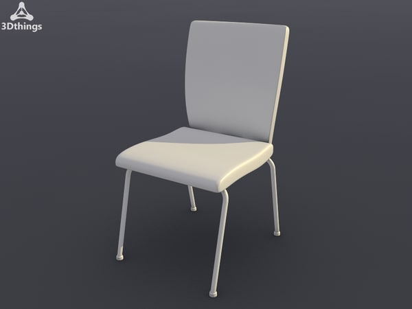 conference chair mr charm 3d model