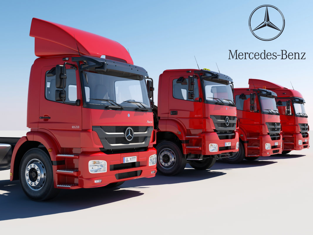 maya mercedes trucks