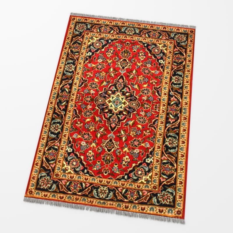 carpet oriental persian 3d max