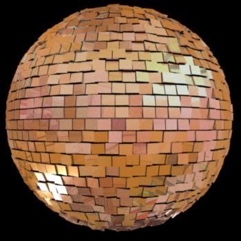 maya disco ball