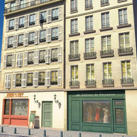 3ds french buildings