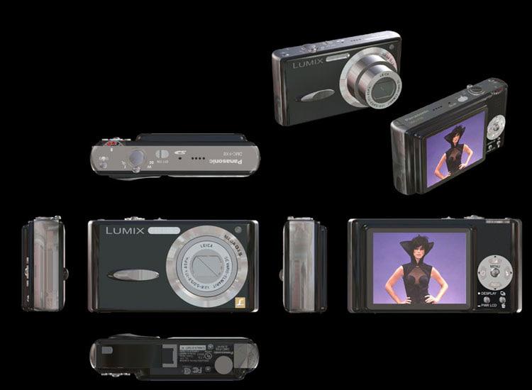 3d model lum dmc fx8