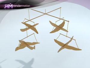 3d model d1 c4 28 plane