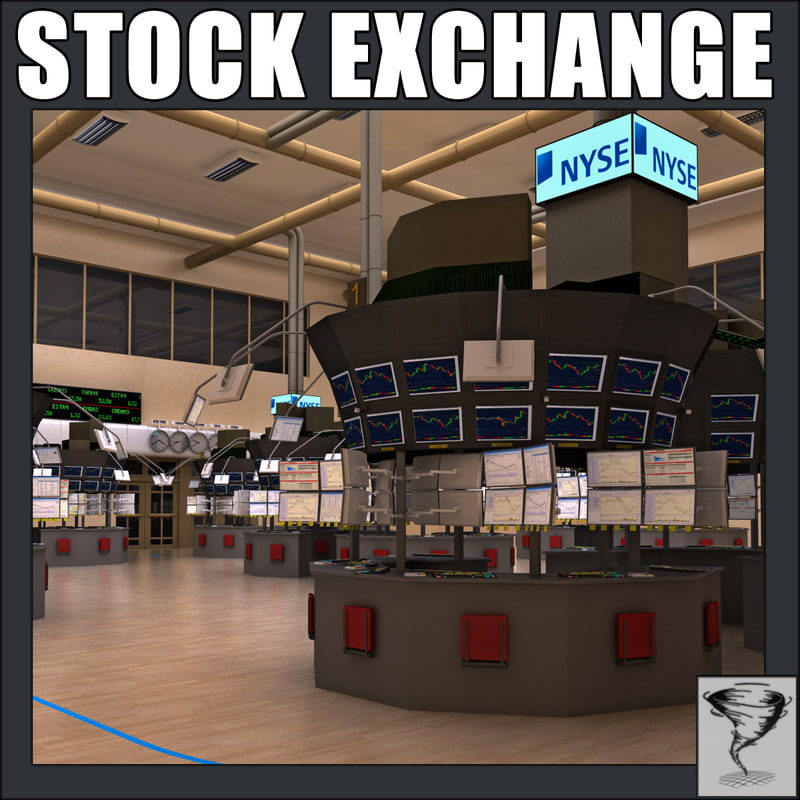 3d model new york stock exchange