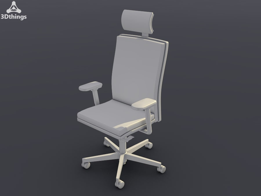 conference chair mr 24 3d max