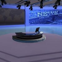 virtual set 3d model