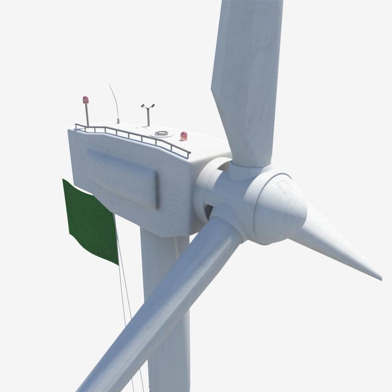 wind turbine 3d dxf