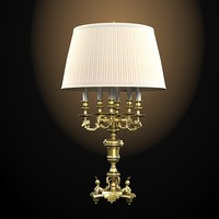 Bronze d art 534 classic baroque luxury table lamp