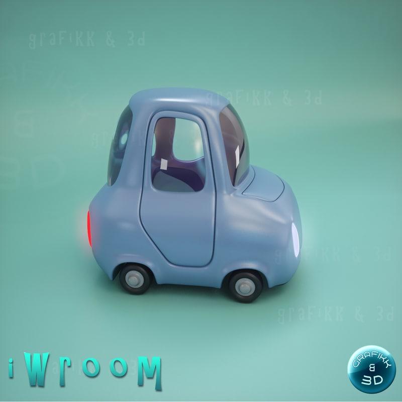 3ds car vehicle