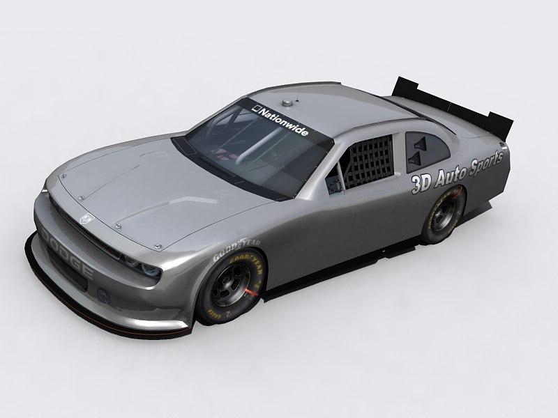 3d model of nascar nationwide 2010