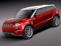 Range Rover Evoque 5 door 2012
