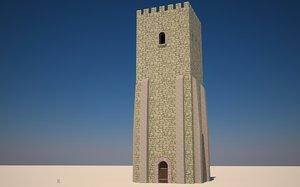 3d model build castle
