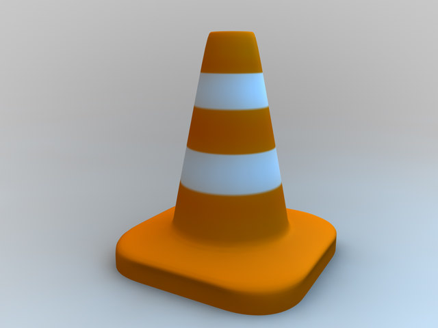 lightwave traffic cone