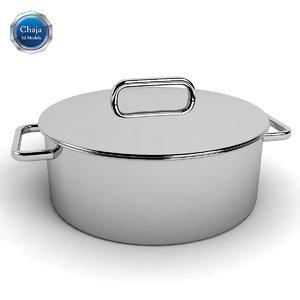 3d model pot