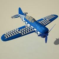 buffalo plane 3d 3ds