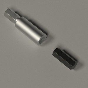 screw screwdriver 3d model