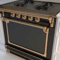 3d model stove gourmet
