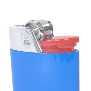 3d model bic lighter