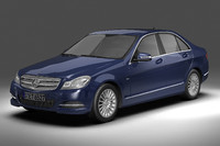 mercedes benz cl c4d