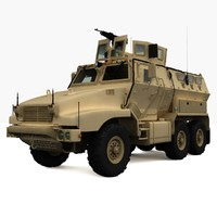 3d 3ds bae caiman armored vehicle