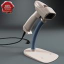barcode scanner 3D models