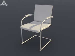 3ds max conference chair open mind