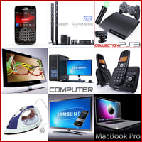 Collection home electronics