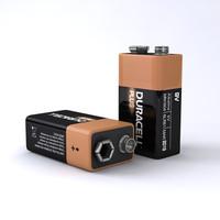 9 volt duracell battery ma
