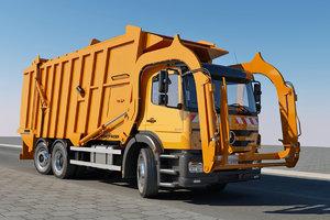 garbage truck max