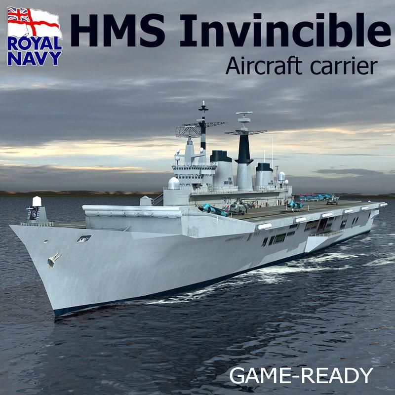 3d hms invincible r05 carrier