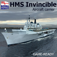 HMS INVINCIBLE R05 Aircraft Carrier