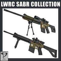 LWRC SABR Rifle and Sniper Collection