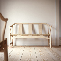 Wegner Chinese Chair & Bench