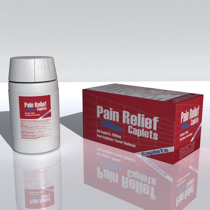 3d bottle pain relief