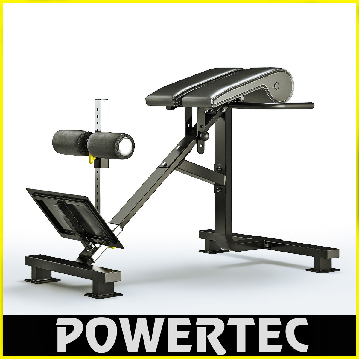 3d model of powertec p-hc10 dual hyperextension
