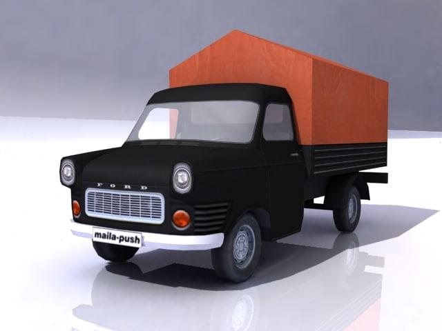 games transit 3d model