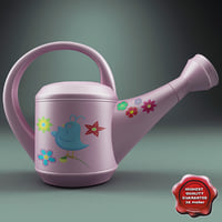 Watering Can Pink