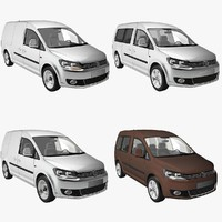 VW Caddy 2011 4-pack
