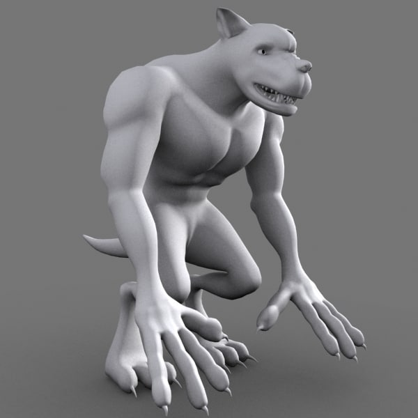 max monster dog character cartoon