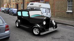 old car 1940 3d ma