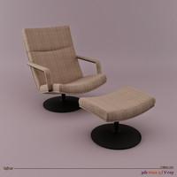 3d 3ds geoffrey harcourt chair