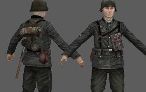 German WW2 Rifleman