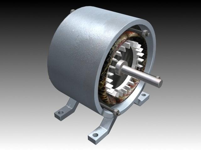 max asynchronous motor