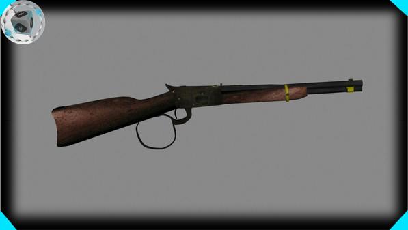 3d model of movie gun