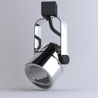 Lighting- Track Cylinder Chrome