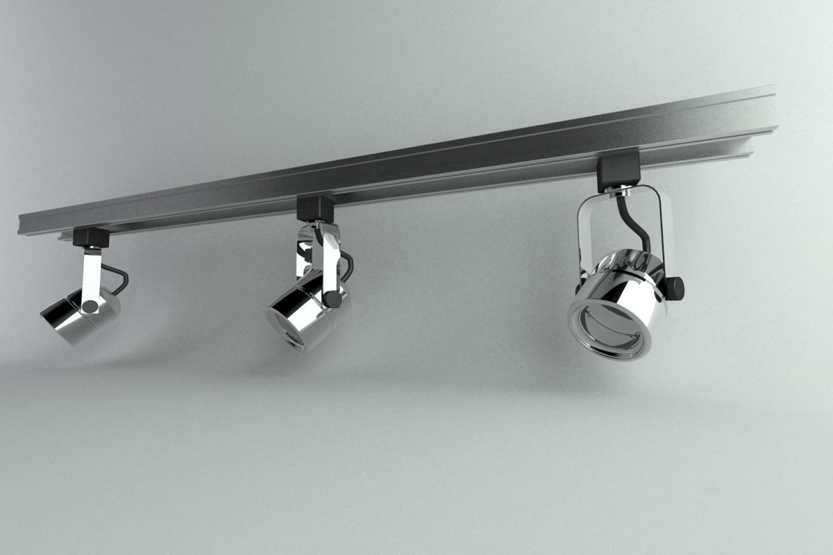 3ds Max Track Light