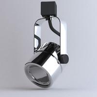 Lighting- Track Cylinder Chrome