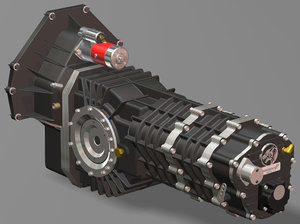 transmission manual hd6 dohc 3d max