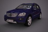 3d mercedes benz ml class model
